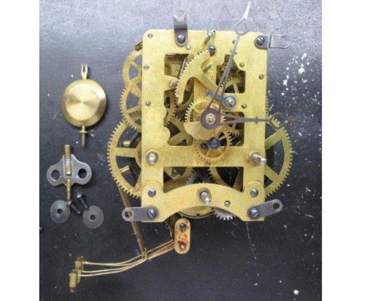 Waterbury Repair / Rebuild Service For Waterbury Westminster Chime Clock Movement