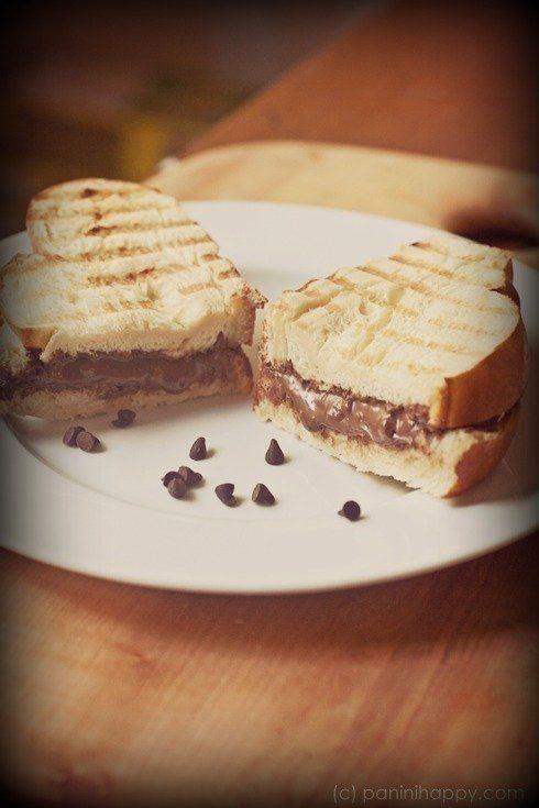 Panini nutella #dubaumeauxhanches | 04 - ツ Delicious ツ | Pinterest