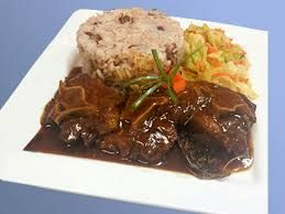 Image result for oxtail jamaican food