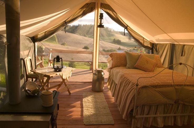 My idea of tenting it.