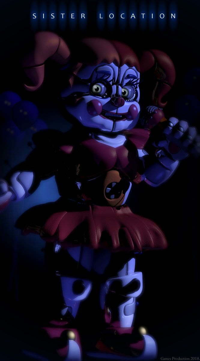 Circus Baby Full Poster By Https Www Deviantart Com
