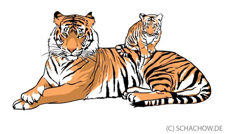 41 best gezeichnete tiere images on pinterest zeichnen. Black Bedroom Furniture Sets. Home Design Ideas
