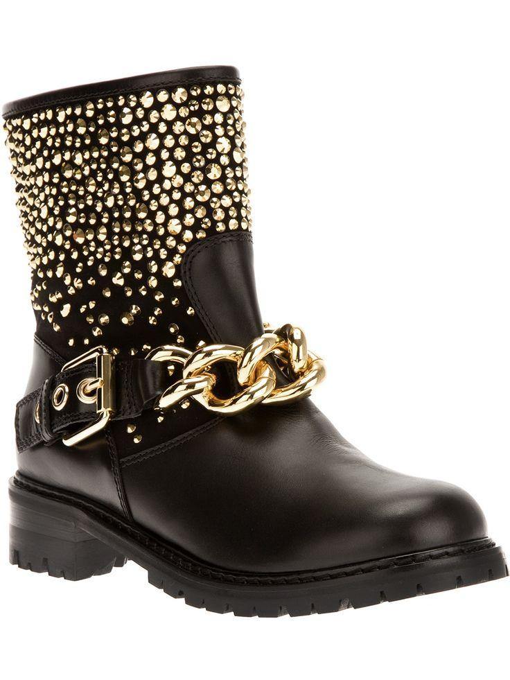 Giuseppe Zanotti Design Studded Boot