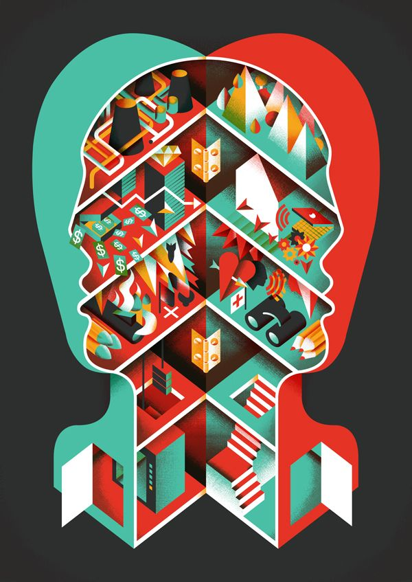 GDFB 2012 by Aron Vellekoop León, via Behance