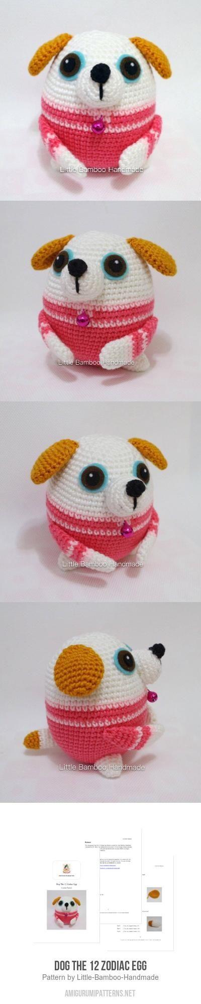 Dog The 12 Zodiac Egg amigurumi pattern