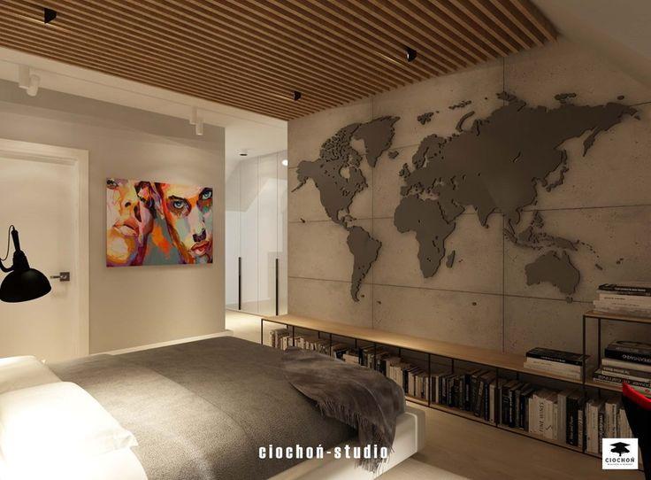 Sypialnia z łazienką - zdjęcie od Ciochoń-Studio