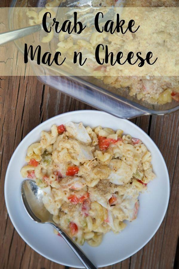 Crab Cake Macaroni & Cheese Recipe | 5DollarDinners.com