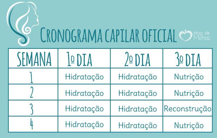 """Vocês já ouviram falar no Cronograma Capilar? A nova onda é criar uma """"agenda de tratamento"""" para os seus cabelos com a função de repor nutrientes perdidos naturalmente no dia a dia. E…"""