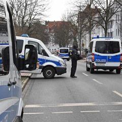 Police raid the German-speaking Islamic Society of Hildesheim Mosque