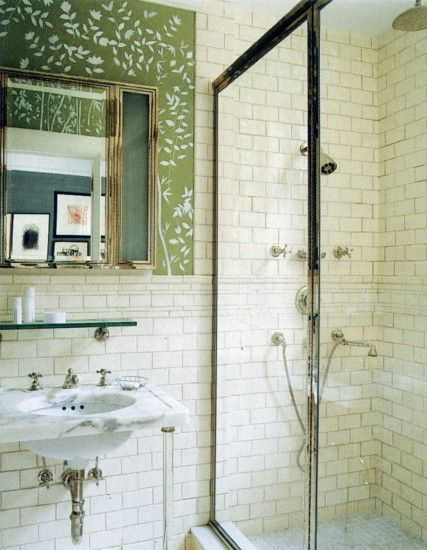 Spades5 Architectural renovation and interiors for Kate and Andy Spade of a large Pre-War apartment on Manhattan's Upper East Side.