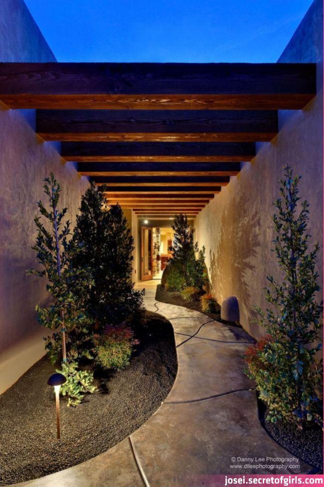 Gorgeous Walkway To Charisma Design In 2020 Outdoor Walkway Exterior Door Colors House Entrance Gorgeous Walkway In 2020 Outdoor Walkway Outdoor Interior Garden