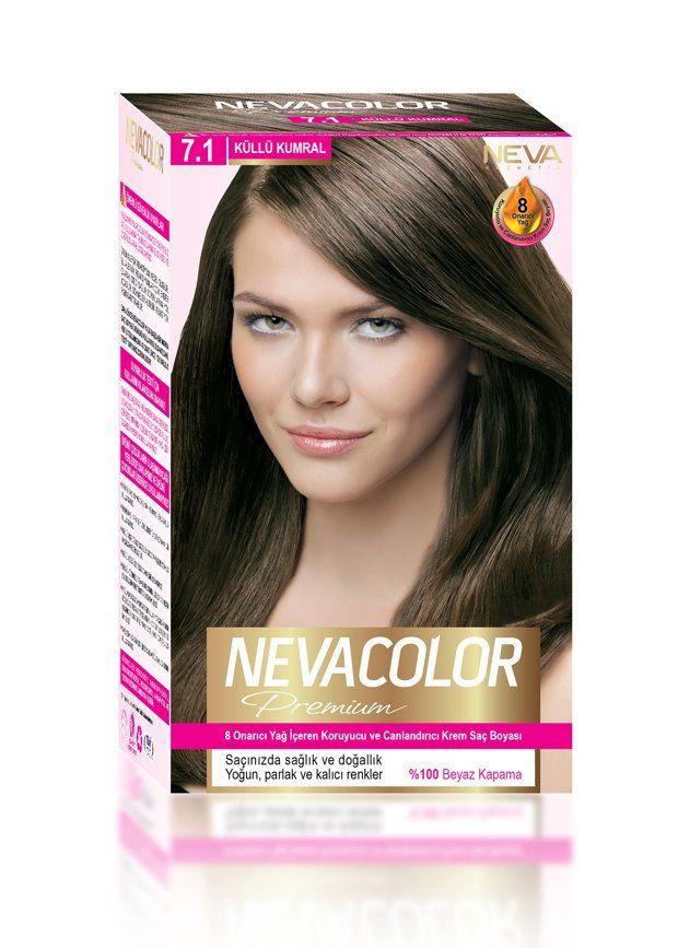 Nevacolor Premium Sac Boyasi 7 1 Kullu Kumral Sac Boyasi