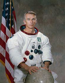 Gene Cernan Astronaut 14-Mar-1934 Last man on the moon (Apollo 17)