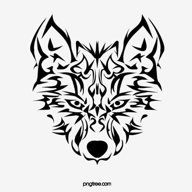 ذئب وشم اسود و ابيض لانغتو أسود أبيض الوشم قصاصات فنية التين المرسومة رأس الذئب White Wolf Tattoo Black Tattoos Wolf Tattoo