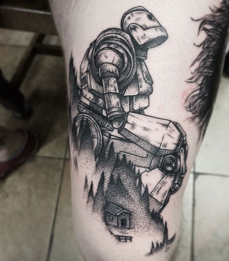 Iron giant tattoo - Album on Imgur
