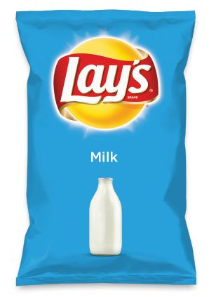 Wouldn't Milk be yummy as a chip? Lay's Do Us A Flavor is back, and the search is on for the yummiest flavor idea. Create a flavor, choose a chip and you could win $1 million! https://www.dousaflavor.com See Rules.