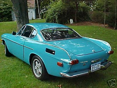 Volvo p1800 in Turquoise