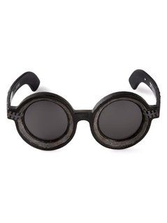 Kuboraum 'Burnt Mask' Sunglasses