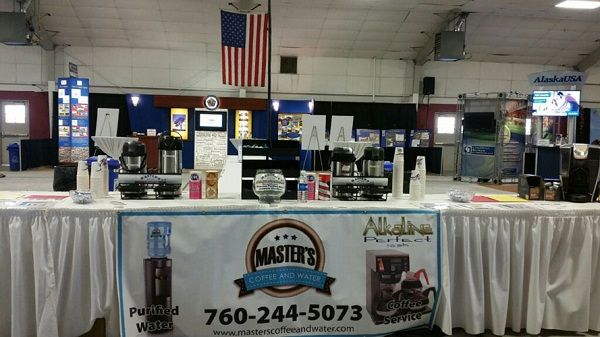 Masters coffee and water service is the best bottled water and Coffee provider in San Bernardino and Riverside Counties ...Call us at 760-244-5073.