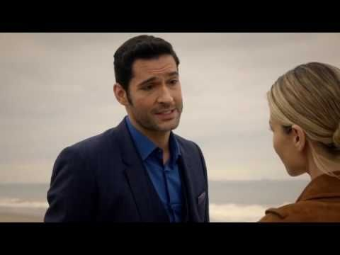 Lucifer Episode 2x11; Closing scene. Chloe & Lucifer kiss.