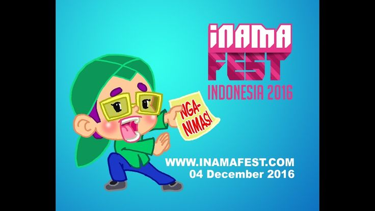 Mas Be ikutan INAMAFEST 2016, 04 December 2016 www.inamafest.com salam animasi Indonesia! music by Renzo Lavista