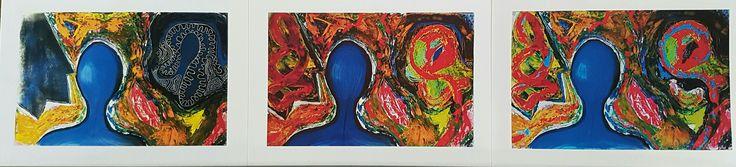 The world we live in Glycee print David Toner