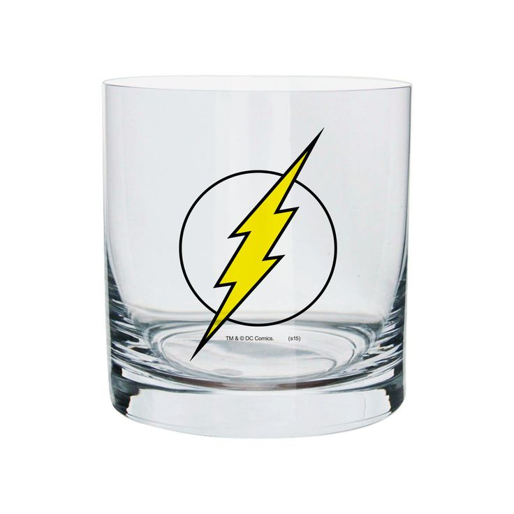 Copo Para Whisky The Flash Logo