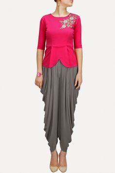 Sonali Gupta Palazzos Suits Collection 2014 - Pakistani Fashion Designer