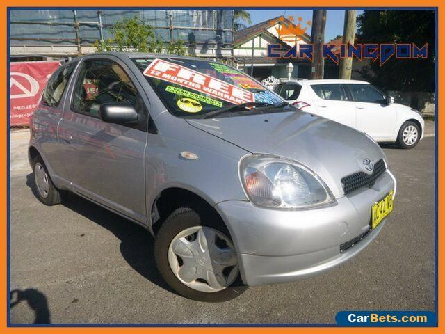2000 Toyota Echo NCP10R Manual 5sp M Hatchback #toyota #echo #forsale #australia