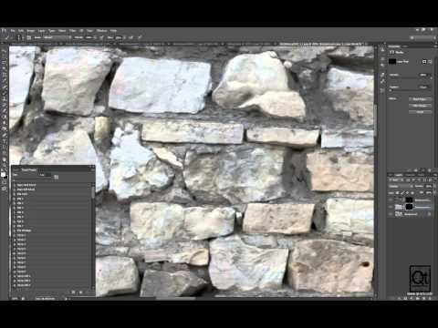 AAA Environment Texturing in Photoshop - Demo - YouTube