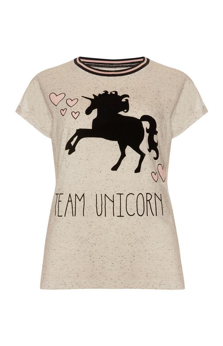 Team Unicorn Pyjama Top