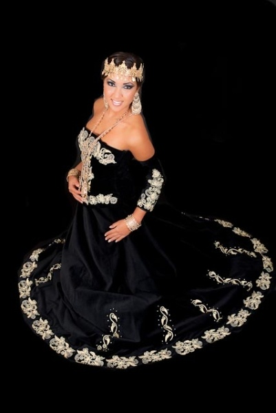 Robe constantinoise bustier 2018