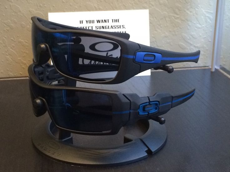 Oakleys Thin Blue LIne Police  To order: http://www.drchopshop.com/thin-line-series.html