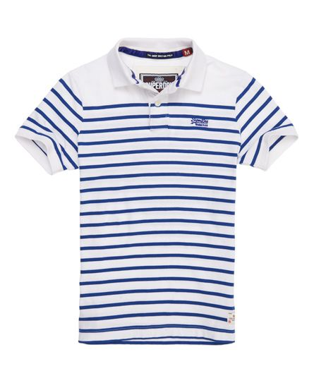 Superdry - polo Dropped Breton