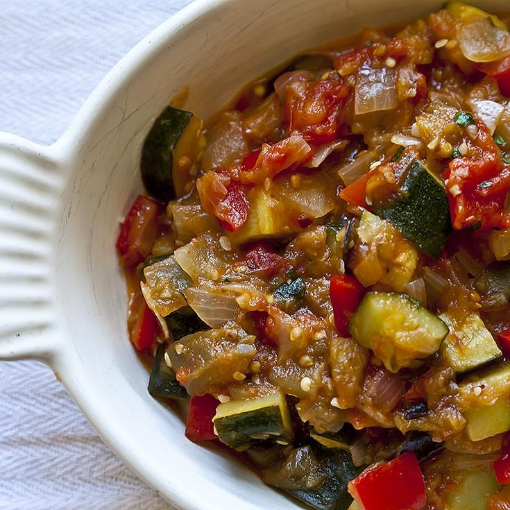 Alice Waters' Ratatouille recipe: A well-worn classic with some modern details. #food52