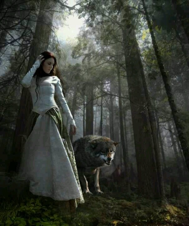 Wolves Girls And Wolf Girl: 159 Best Girl And Her Wolf Images On Pinterest