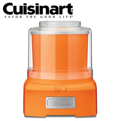 Orange Cuisinart Ice Cream Maker! Matches my Kettle and Toaster...AU $99.95