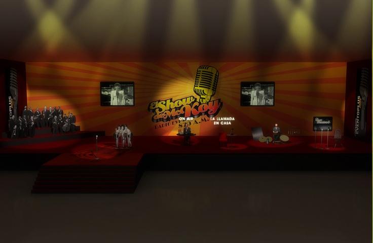 Barcelona, Render, 3D de Guernik Programa de tv El show de Mc Koy