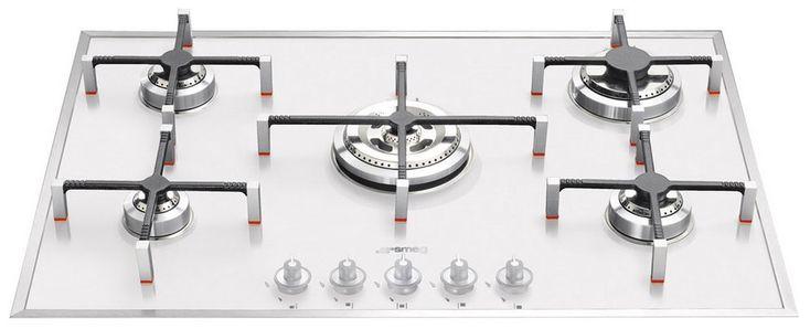 Встраиваемая газовая варочная панель Smeg PVB 750 купить в интернет-магазине Холодильник.Ру с доставкой по Крыму, характеристики, фото
