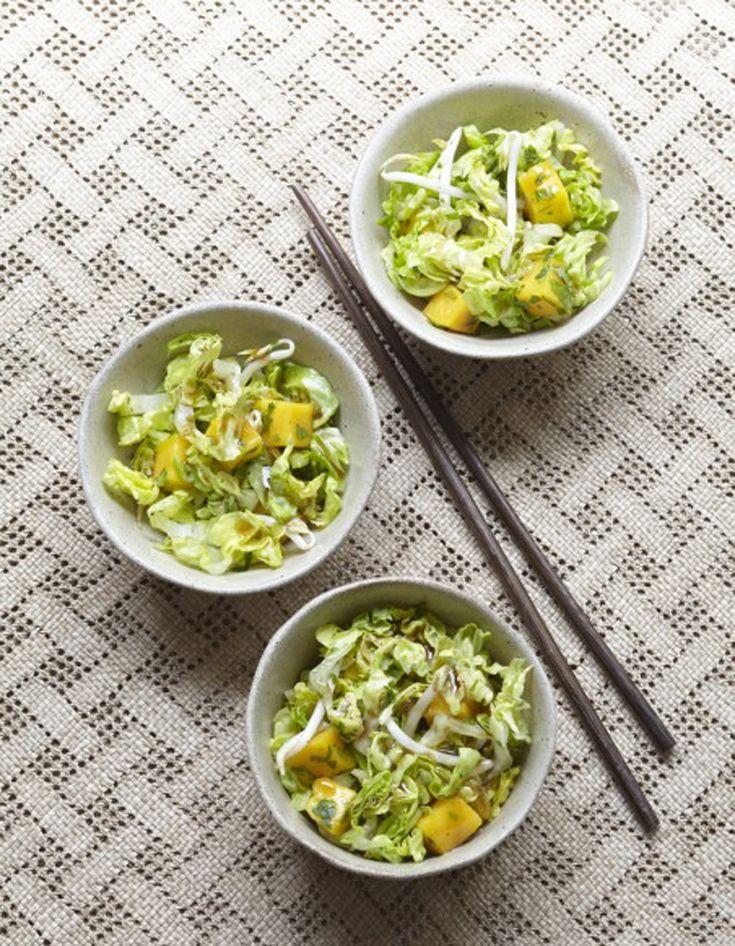 Salade thaïe - 50 recettes pour se mettre au vert - Elle à Table