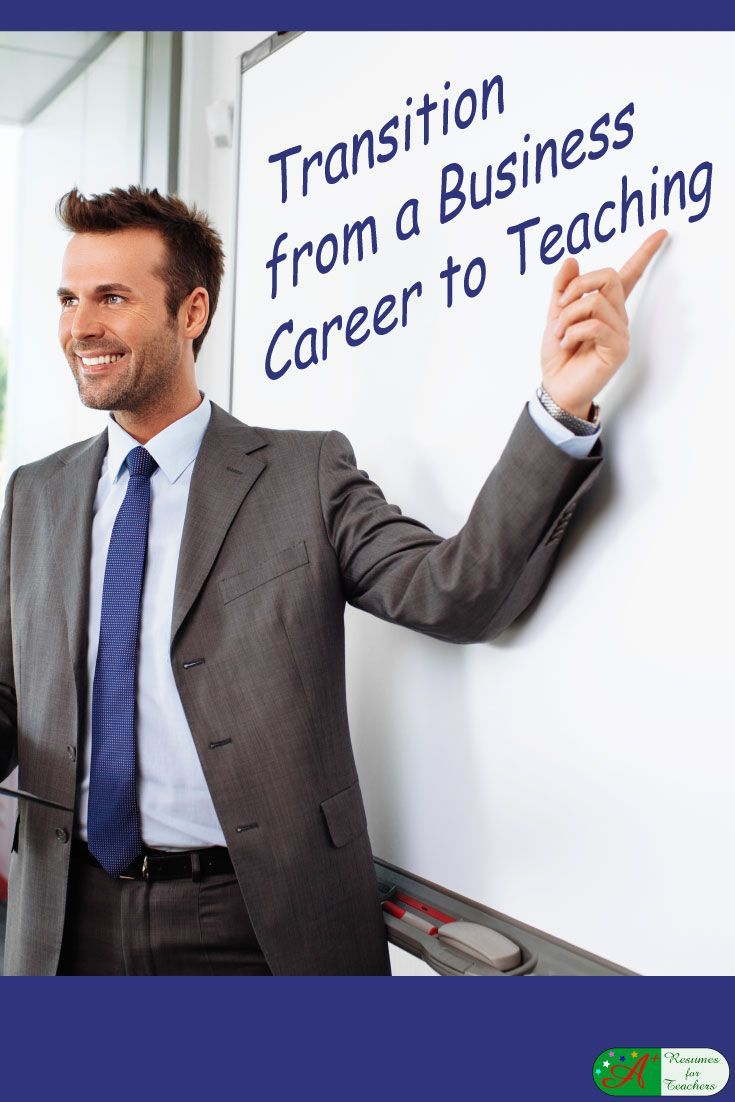 Transition from a Business Career to Teaching