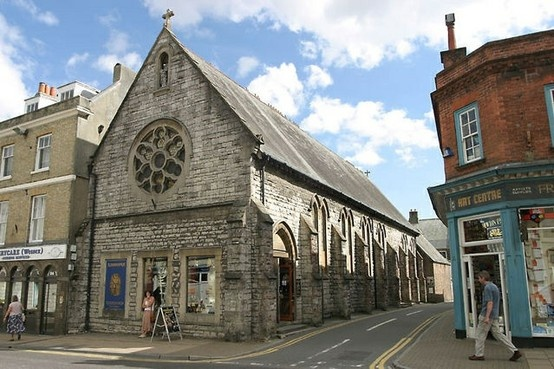The old Catholic Church, high street, Dorchester, my Wife and I were married here in 1969, now a Museum.