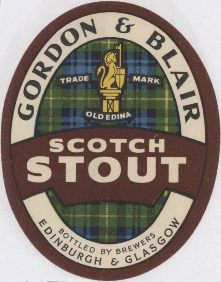 Gordon & Blair of Edinburgh - via the https://www.facebook.com/ScottishBrewingArchive page.  Beers brewed at Craigwell Brewery, which is the building where Craigwell Cottage is now situated.