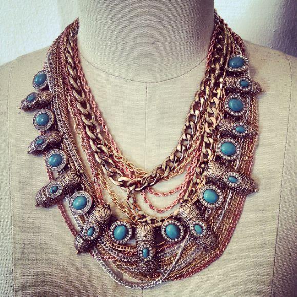 SAMANTHAS WANDERLUST statement necklace jewelry