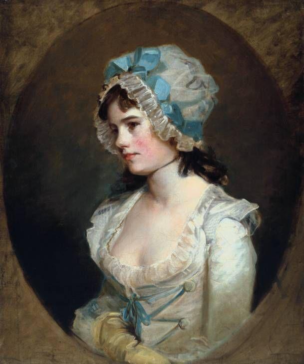 HOPPNER Sir John - British (Whitechapel 1758-1810) ~  ca 1790 Mrs. Williams
