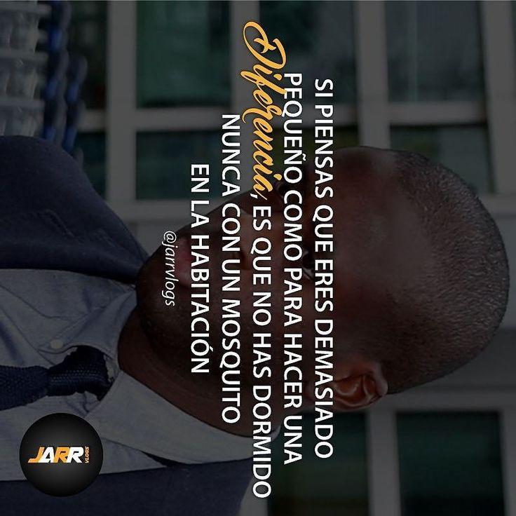 Si piensas que eres demasiado pequeño como para hacer una diferencia es que no has dormido nunca con un mosquito en la habitación...... -  Ver video en el link de la descripción de @jarrvlogs  - - - #somosjarr #jarrvlogs #educacionfinanciera #luxurylife #emprender #dineroextra #dinero #money #libertadfinanciera #positivismo #disciplinapositiva #empresariosjovenes #enfoque #miercolesdevideojarr by jarrvlogs