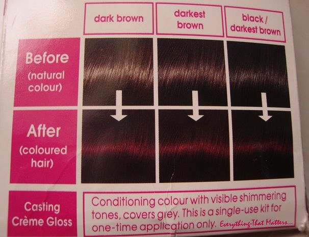 17 Best Images About Black Cherry Hair Dye On Pinterest