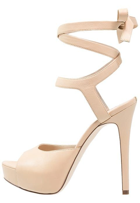 Guess KASSIE - High Heel Sandaletten - beige - meta.domain