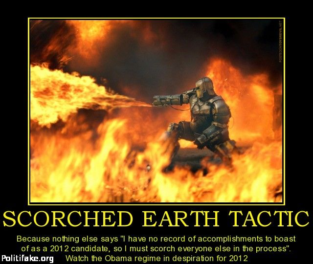 What is the Scorched Earth Policy?