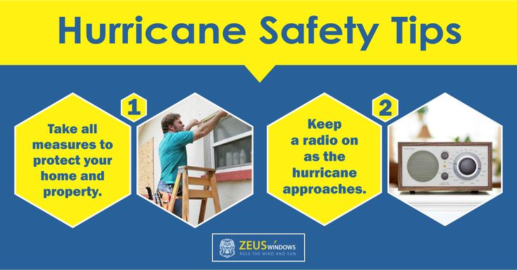 how to keep safe in a hurricane